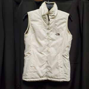 The North Face reversible zip up vest.